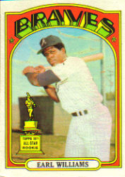 1972 Topps Baseball Cards      380     Earl Williams